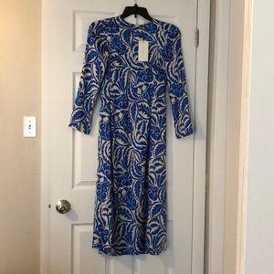 New Zara satin maxi dress